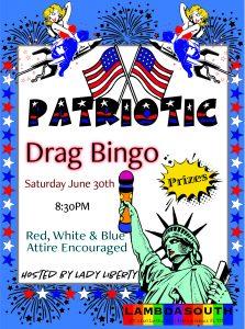 Patriotic Drag Bingo